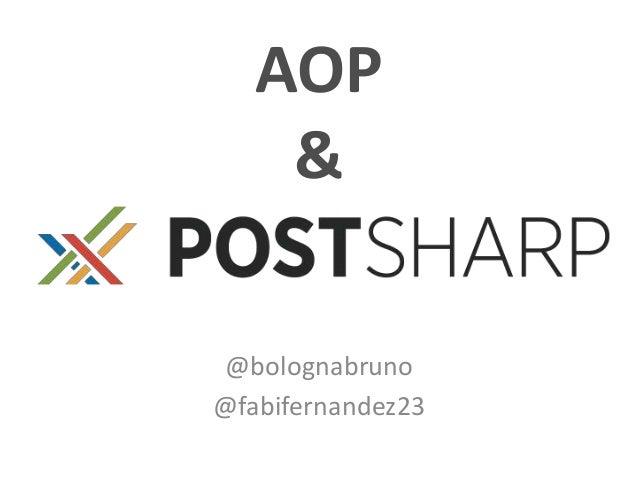 AOP & @bolognabruno @fabifernandez23