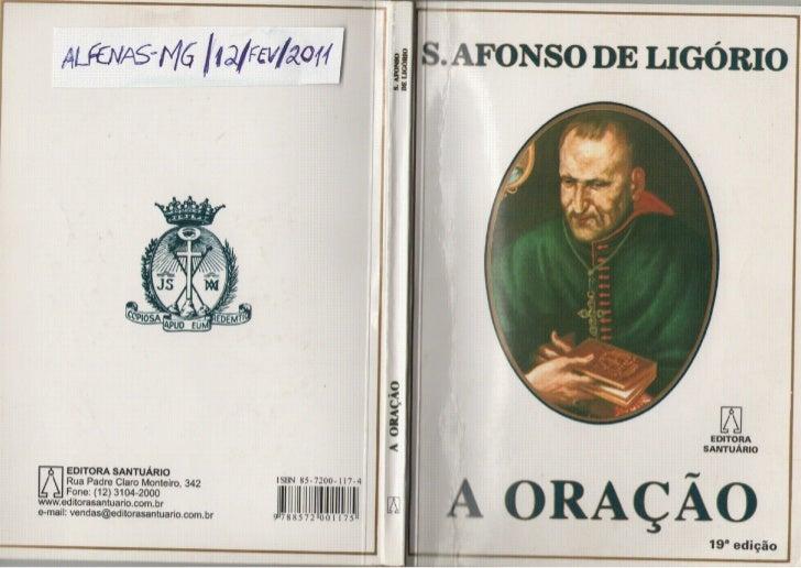 A Oracao Santo Afonso de Ligório