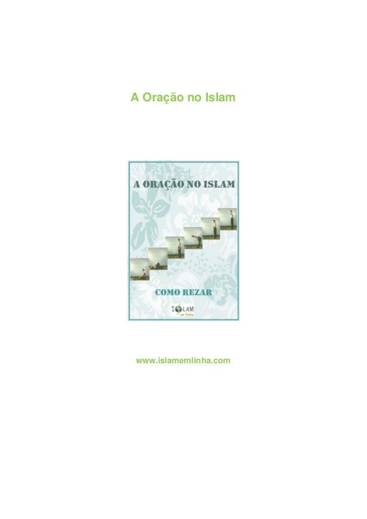 A Oração no Islamwww.islamemlinha.com