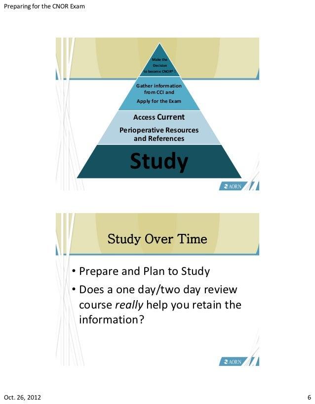 CNOR Study Guide - Free CNOR Practice Test