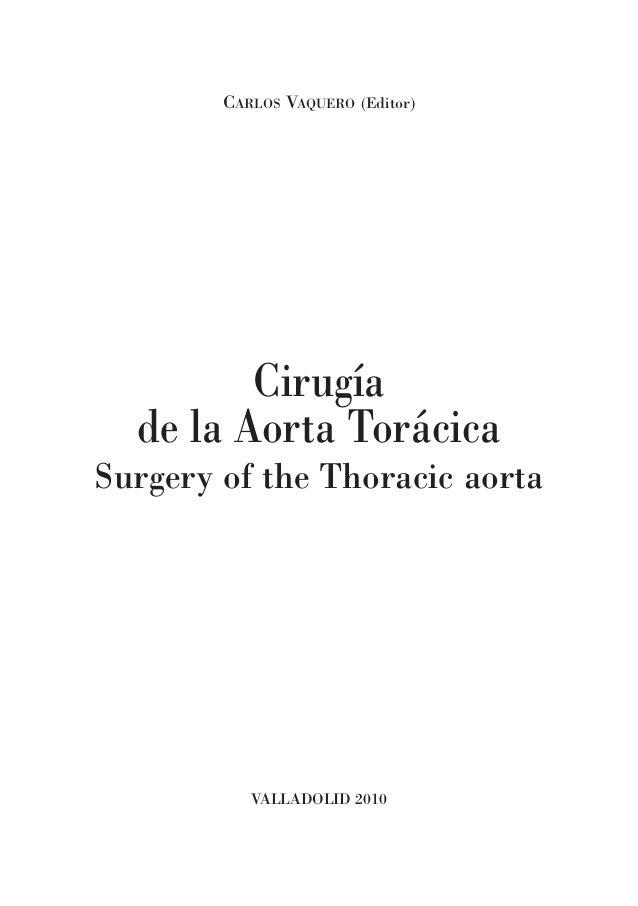 Cirugia de la Aorta Toracica