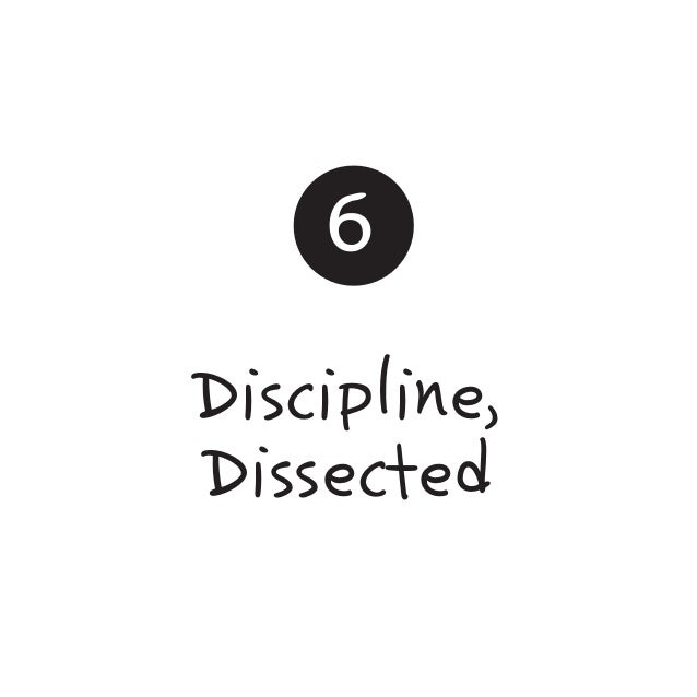 6 Discipline, Dissected
