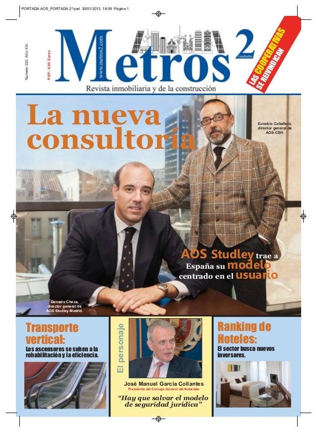 PORTADA AOS_PORTADA 2ª.qxd 30/01/2013 18:59 Página 1                                                                      ...