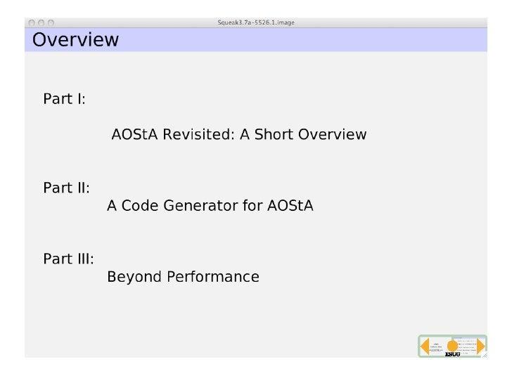 AOSTA Slide 2