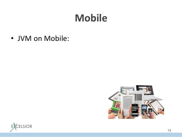 Mobile   • JVM  on  Mobile:   74