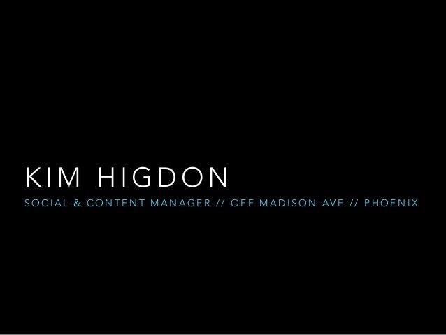 AOT Arizona Insiders Case Study with Kim Higdon Slide 2