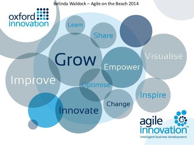 Belinda Waldock – Agile on the Beach 2014
