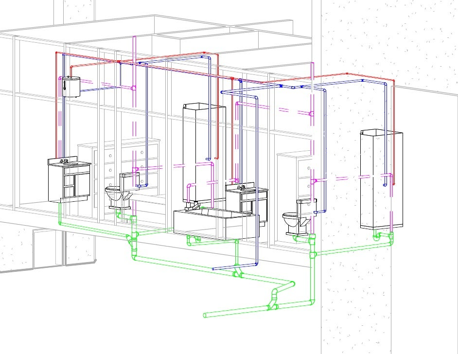 Revit mep 2010 plumbing design 101b for Plumbing remodeling