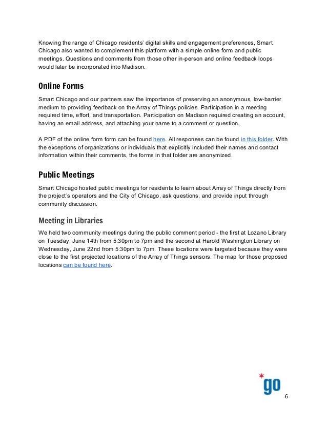 KnowingtherangeofChicagoresidents'digitalskillsandengagementpreferences,Smart Chicagoalsowantedtocom...