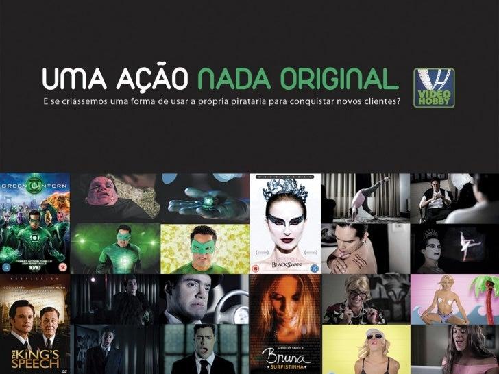 """Pra atrair novos clientes para a sua nova Mega Store e combater a Pirataria, a Video Hobby criouum site """"fake"""" de download..."""