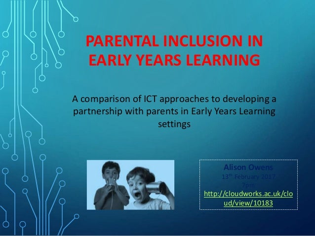 supporting inclusion in the early years Nutbrown, c and clough, p inclusion in the early years: critical analyses and enabling narratives (sage, 2006) cathy nutbrown is head of the school of education at the university of sheffield further discussion of the issues of 'inclusion' can be found in her book key concepts in early childhood education and care (2nd edn), published by.