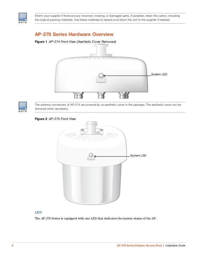 aruba ap 270 series installation guide. Black Bedroom Furniture Sets. Home Design Ideas
