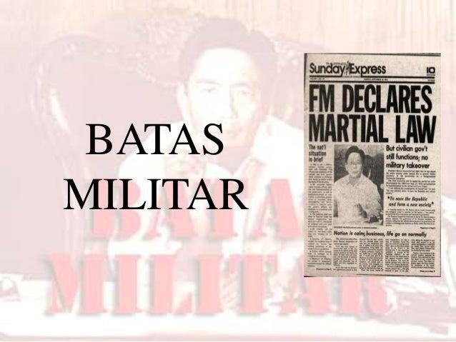 BATAS MILITAR