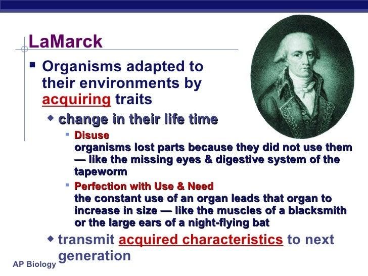Lamarck Biology