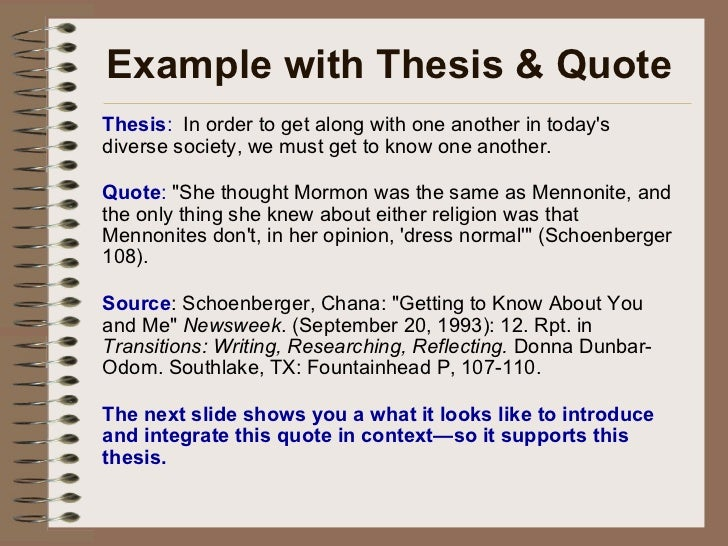 trifles thesis statements and important quotes Thesis statements and topic sentences  thesis statements a thesis statement defines the scope and  rather than why the paragraph is important to your.