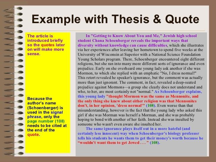 Research methods essay