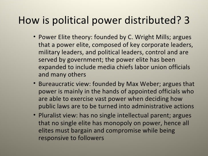 what is elitist theory of government