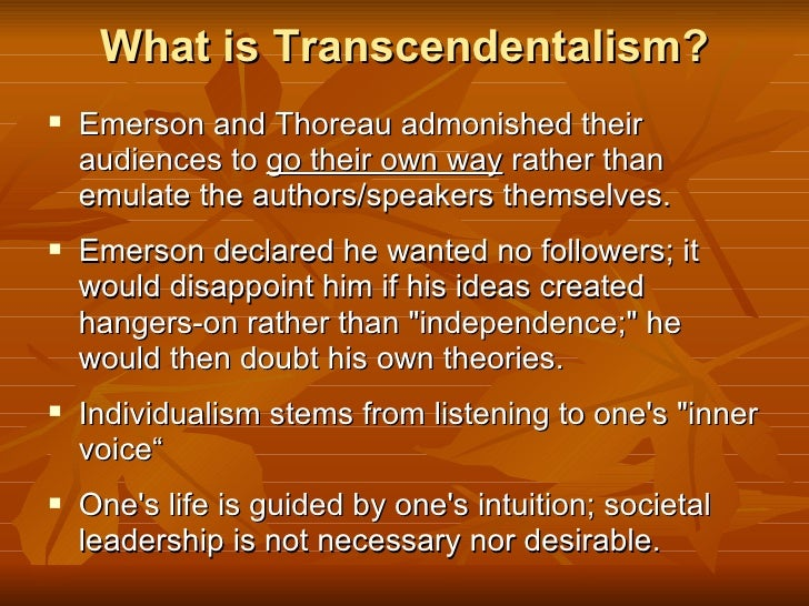 transcendentalism essential essays of emerson and thoreau teacher copy Transcendentalism essays the essential essays the inner self reliance and a essay writing and negatives of transcendentalism in him emerson's essays.
