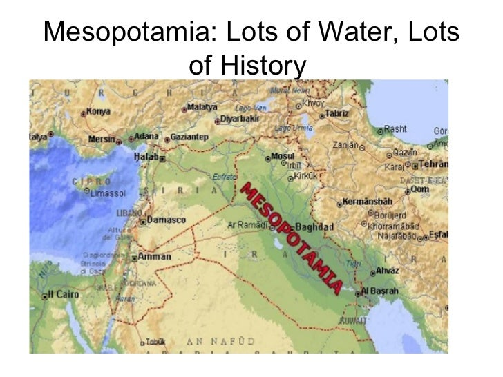 Ap world history review 1 mesopotamia lots of water lots of history gumiabroncs Images