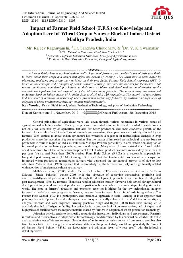 The International Journal of Engineering And Science (IJES)||Volume|| 1 ||Issue|| 2 ||Pages|| 283-286 ||2012||ISSN: 2319 –...