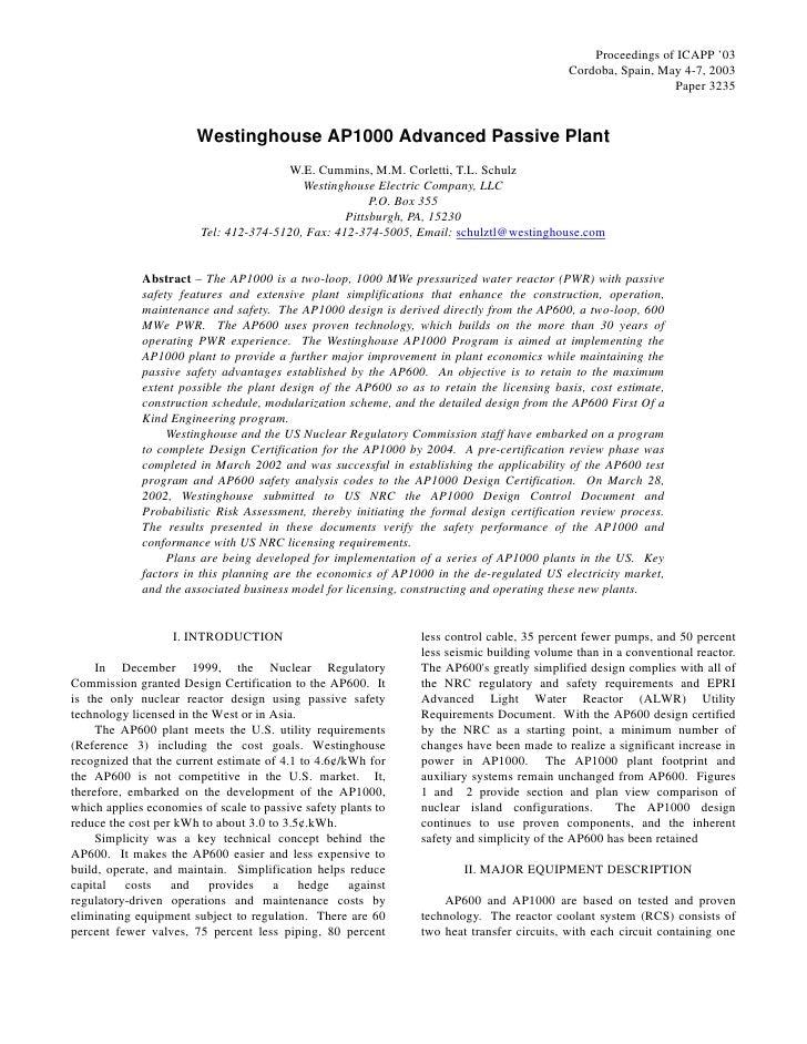 Proceedings of ICAPP '03                                                                                             Cordo...