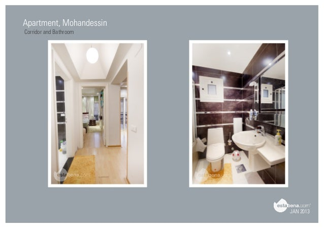 JAN 2013 Apartment, Mohandessin Corridor And Bathroom ...