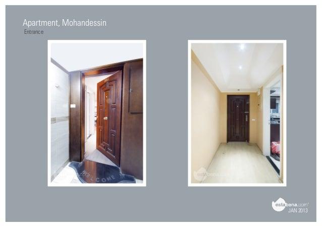 Delightful JAN 2013 Apartment, Mohandessin Entrance; 4.