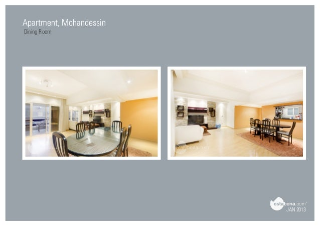 Superb JAN 2013 Apartment, Mohandessin Dining Room ...