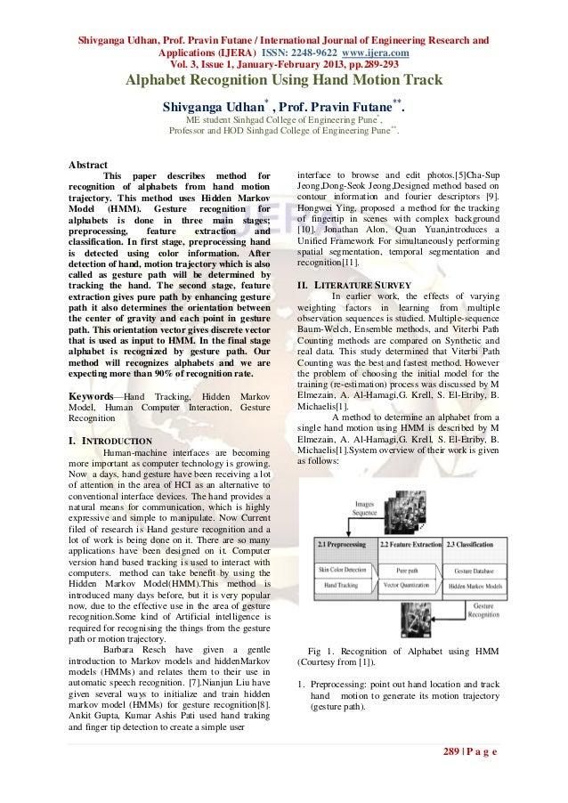 Shivganga Udhan, Prof. Pravin Futane / International Journal of Engineering Research and                  Applications (IJ...