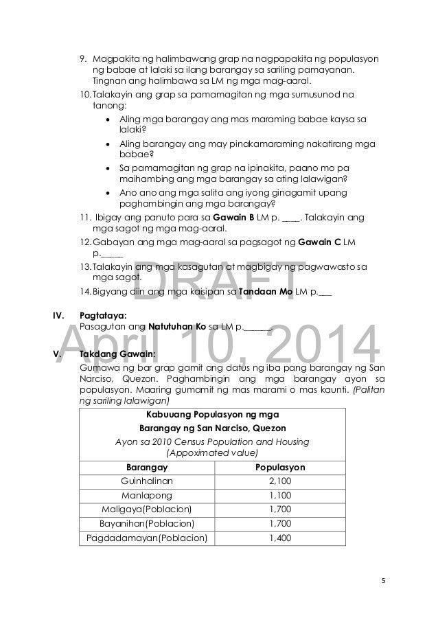 paano gumawa ng research paper sa araling panlipunan
