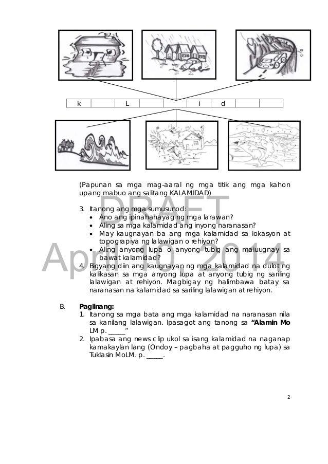 ARALIN PANLIPUNAN 3 K TO 12