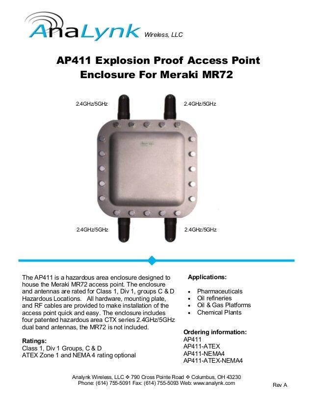 Analynk Wireless, LLC  790 Cross Pointe Road  Columbus, OH 43230 Phone: (614) 755-5091 Fax: (614) 755-5093 Web: www.anal...