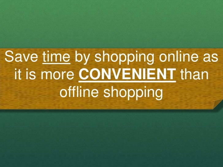 Advance online shopping