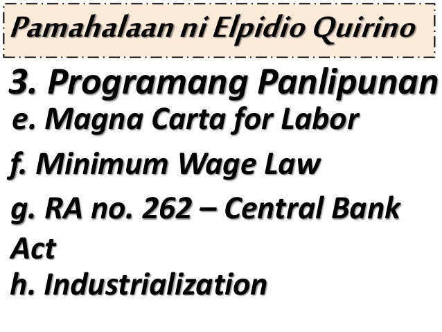 notes on minimum wages act Minimum wages act, 1948 1 minimum wages act, 1948 2 object and scope of the act the main aim of the enactment is to make provisions for statutory fixation of minimum rates of wages in scheduled employment wherein labour is not organised and sweated labour is most prevalent.