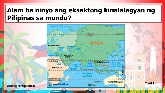 Alam ba ninyo ang eksaktong kinalalagyan ng Pilipinas sa mundo?