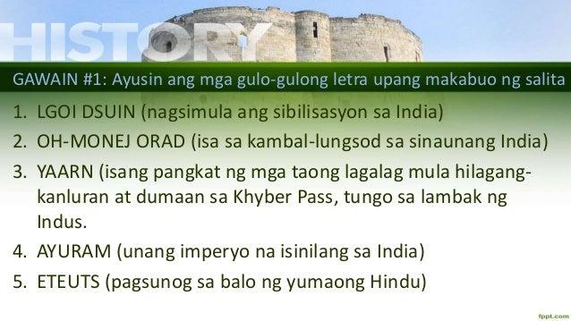 Kabihasnang India at ang mga Imperyong Maurya, Gupta at Mughal Slide 2