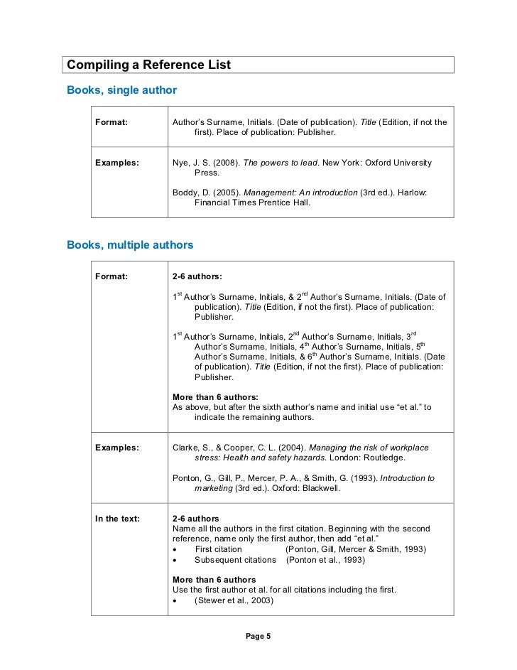 Apa page 4 5 compiling a reference ccuart Gallery