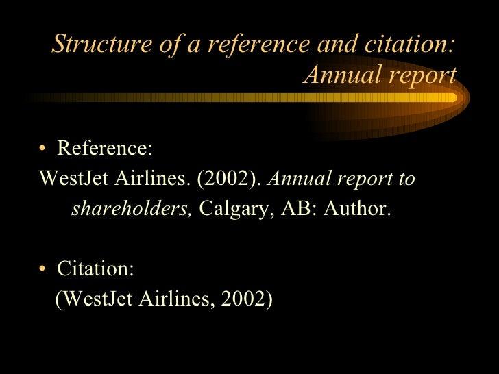 reports in apa format