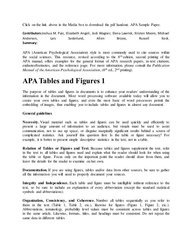 apa tables and figures 6th edition pdf
