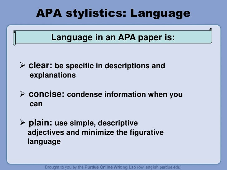 citing in apa paper