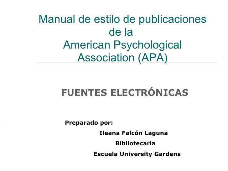 Connect With APA Style