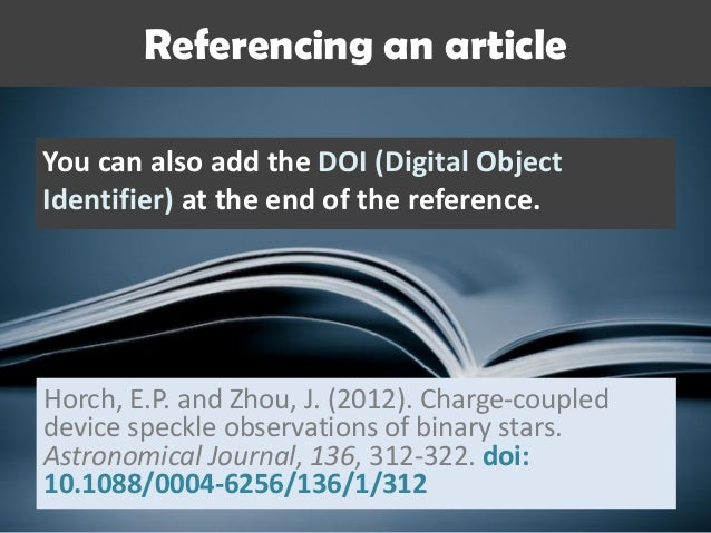 How to cite and reference in apa style 33 ccuart Choice Image