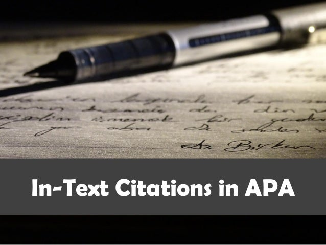Citaten Quran Apa : How to cite and reference in apa style