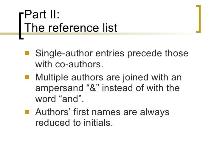 apa in text citation for multiple authors