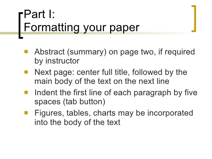 Cite dissertation abstract apa style