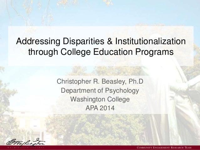 Apa 2014 Ex Offender Education Presentation