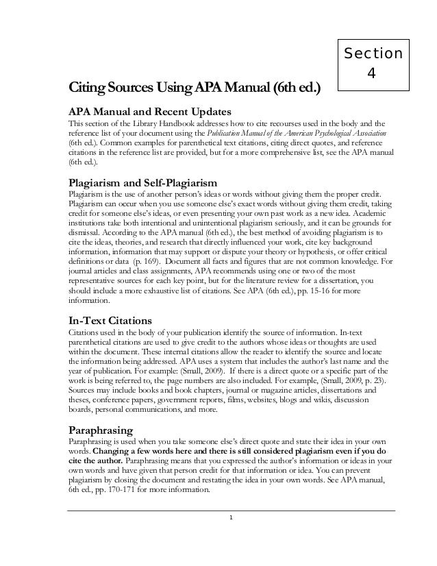 Apa 6th ed for Lit review template