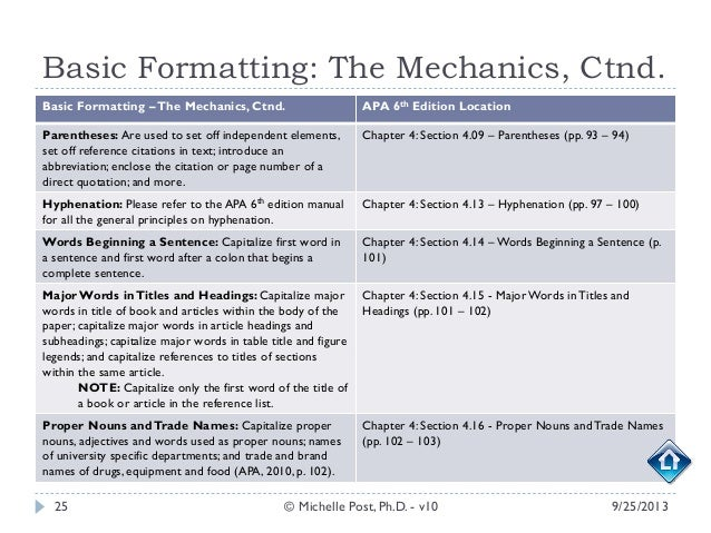 Citation Help for APA, 6th Edition: Formatting Your Paper