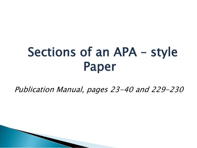 apa publication manual 6th edition pdf