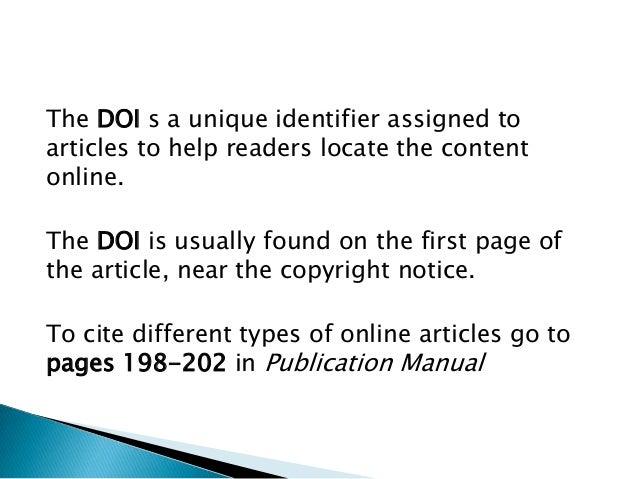 apa 6th edition publication manual